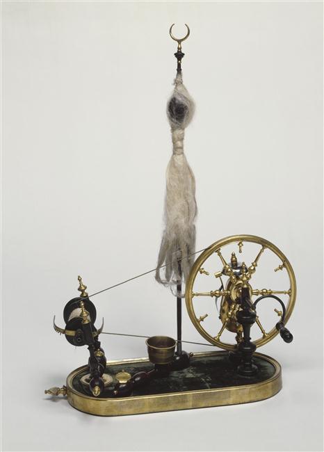 Un rouet ayant appartenu à Marie-Antoinette ? Les rouets au XVIIIe siècle 17715310