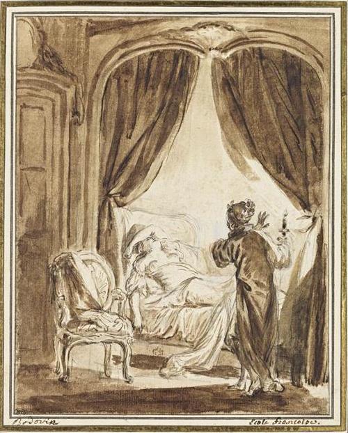 Pierre-Antoine Baudouin, dessinateur du libertinage au XVIIIe siècle 18-51810