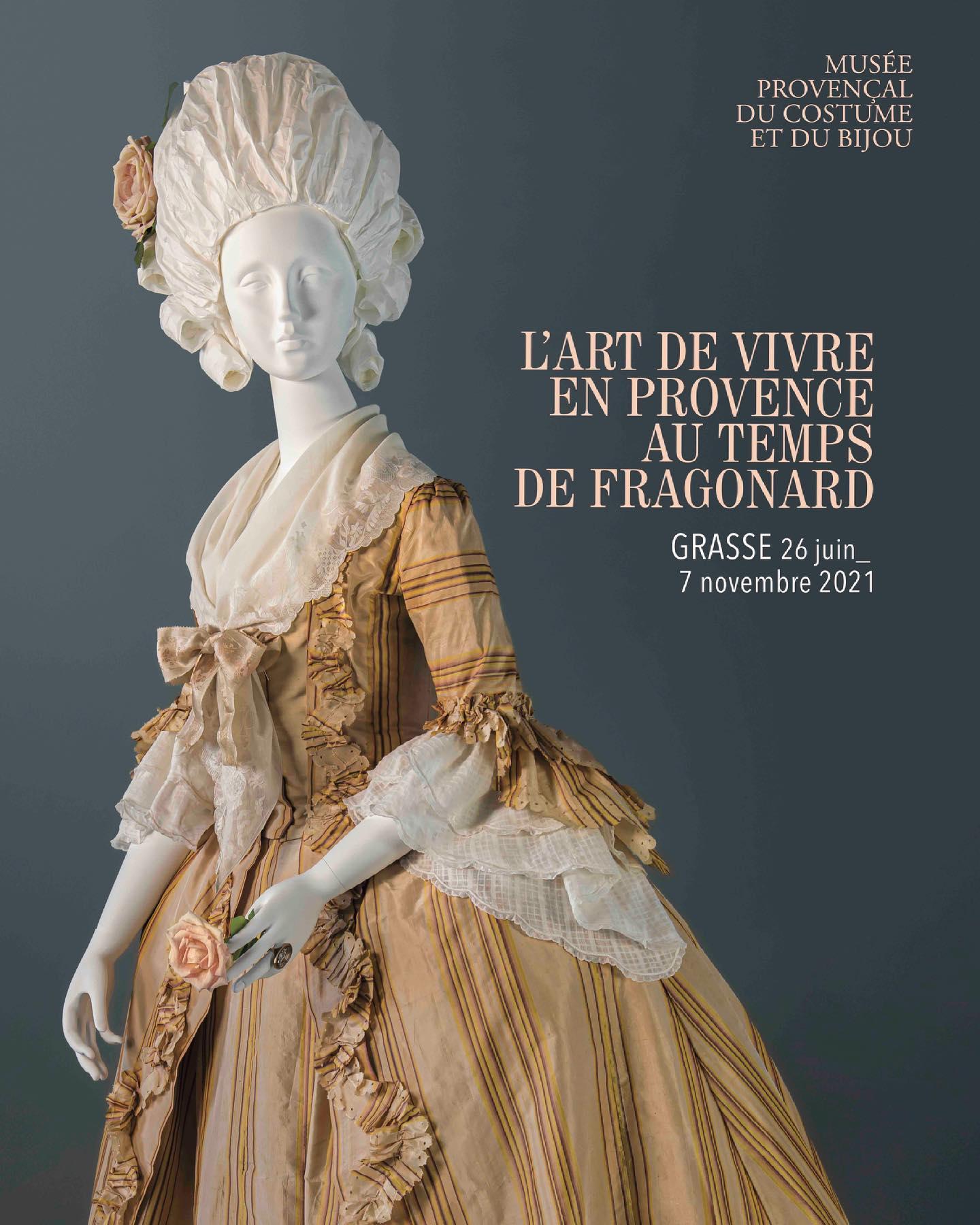 """Exposition """" L'art de vivre en Provence au temps de Fragonard """". Musée provençal du costume et du bijou (Grasse) 20072410"""