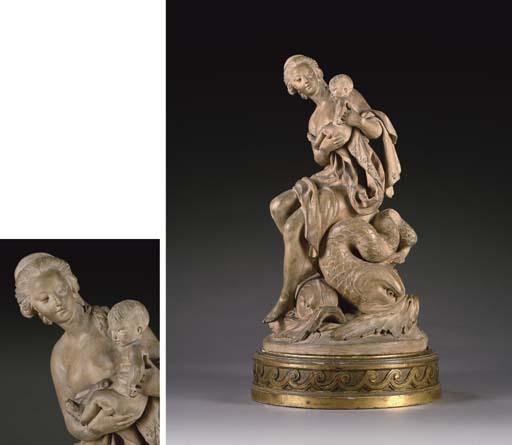 Marie-Antoinette, allégorie de la naissance du dauphin, par et d'après Augustin Pajou 2007_p12