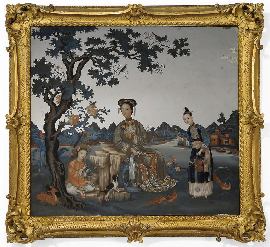 La peinture sous / sur verre chinoise au XVIIIe siècle 2010_c13