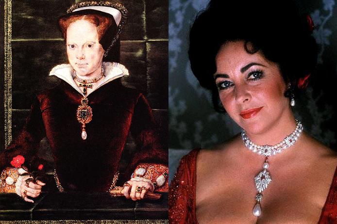 Quatre perles parmi les plus célèbres au monde : La Régente (Perle Napoléon), La Pélégrina, La Pérégrina, La perle de Marie-Antoinette - Page 2 2011-111