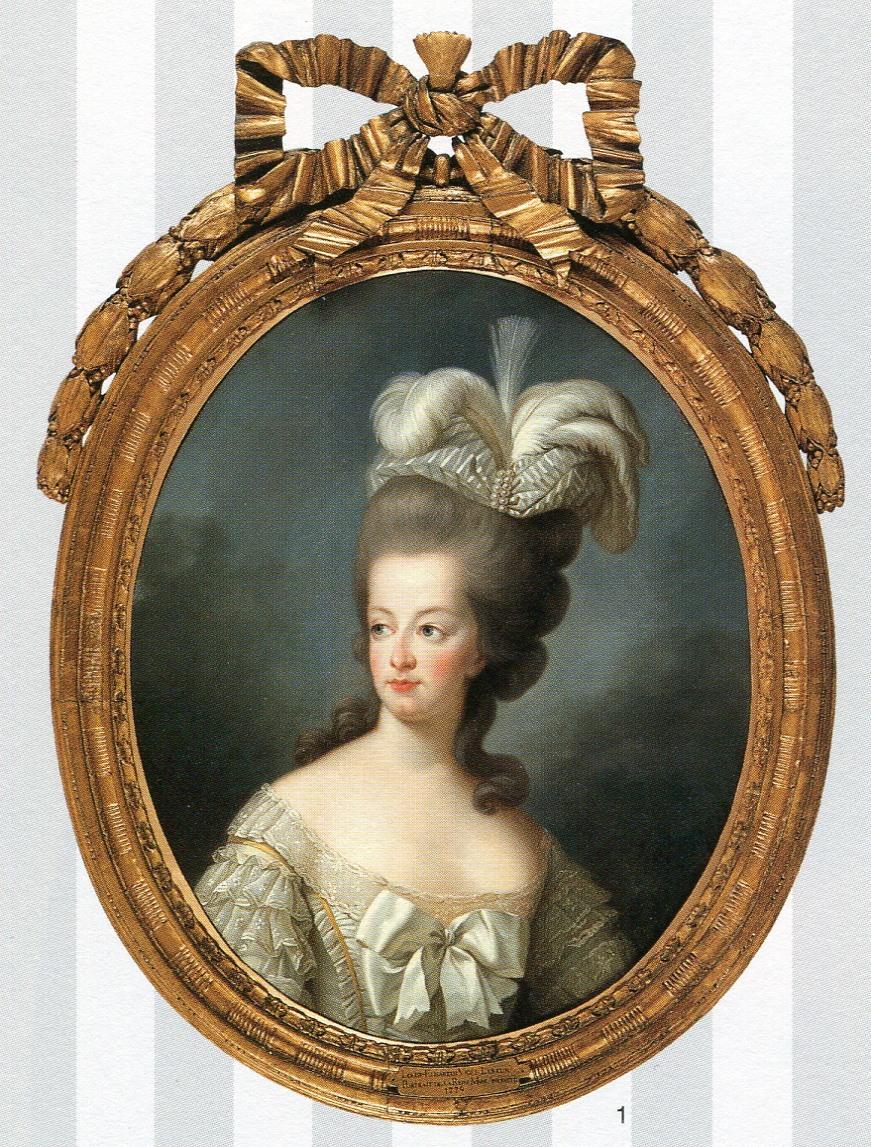 Marie-Antoinette en buste par et d'après Mme Vigée-Lebrun (1778) 20110310