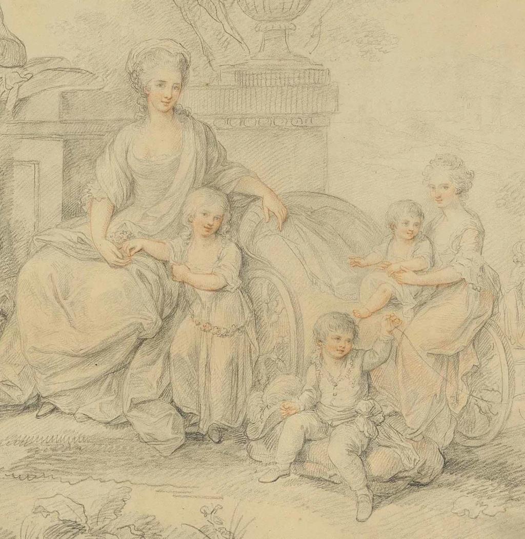 Portraits du roi Ferdinand IV et de la reine Marie-Caroline par Angelica Kauffmann 2015_c12