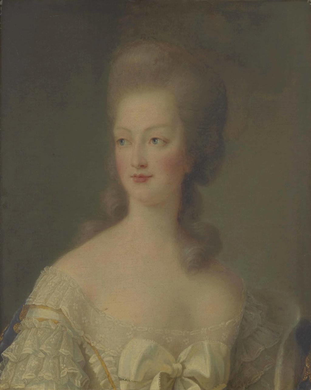 Portrait de Marie-Antoinette en buste par Vigée Le Brun (1781) 2015_p19