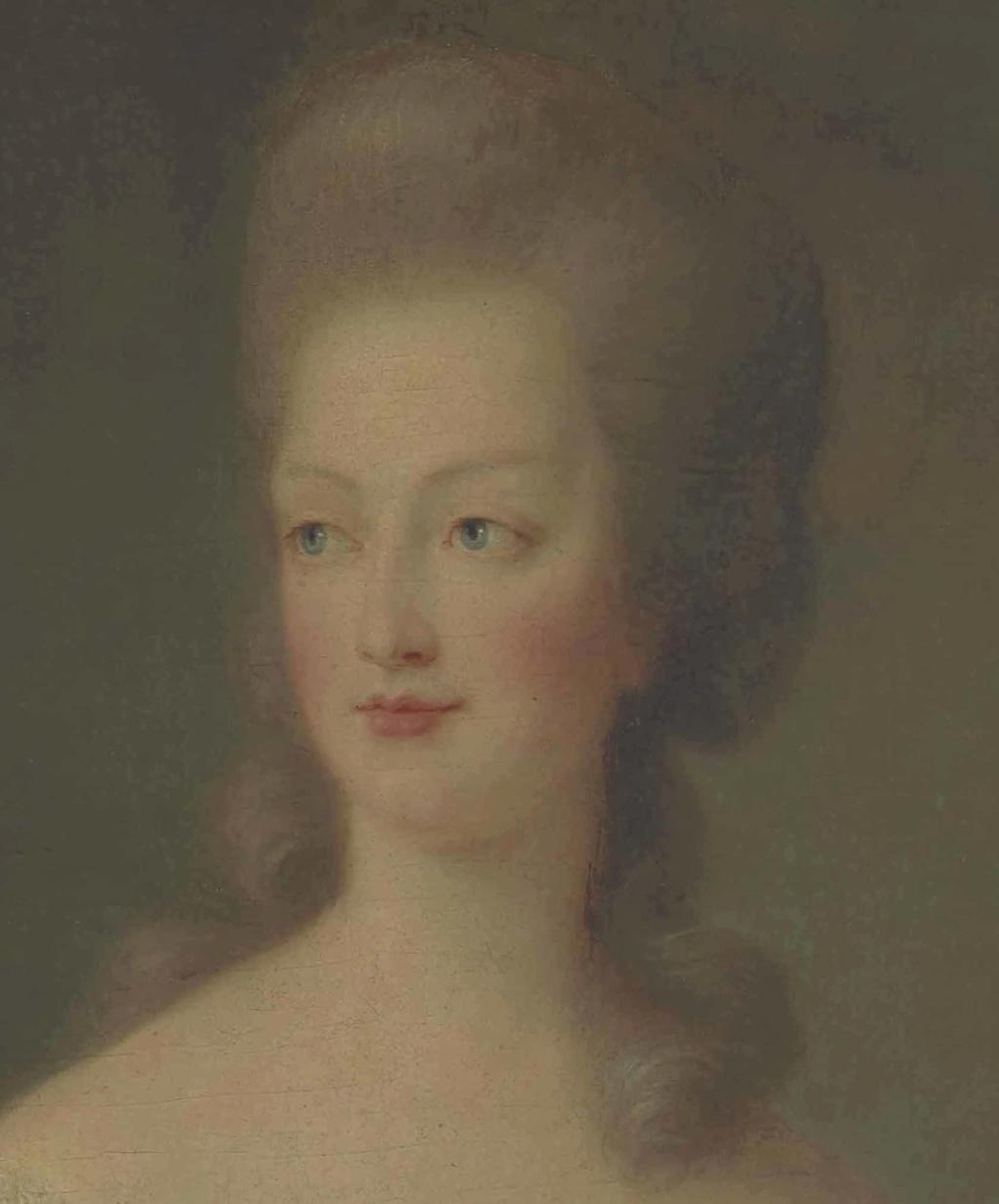 Portrait de Marie-Antoinette en buste par Vigée Le Brun (1781) 2015_p20