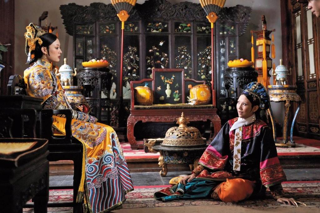 Série : The Legend of Zhen Huan (Empresses in the Palace), les atours de l'aristocratie chinoise au XVIIIe siècle 20171110