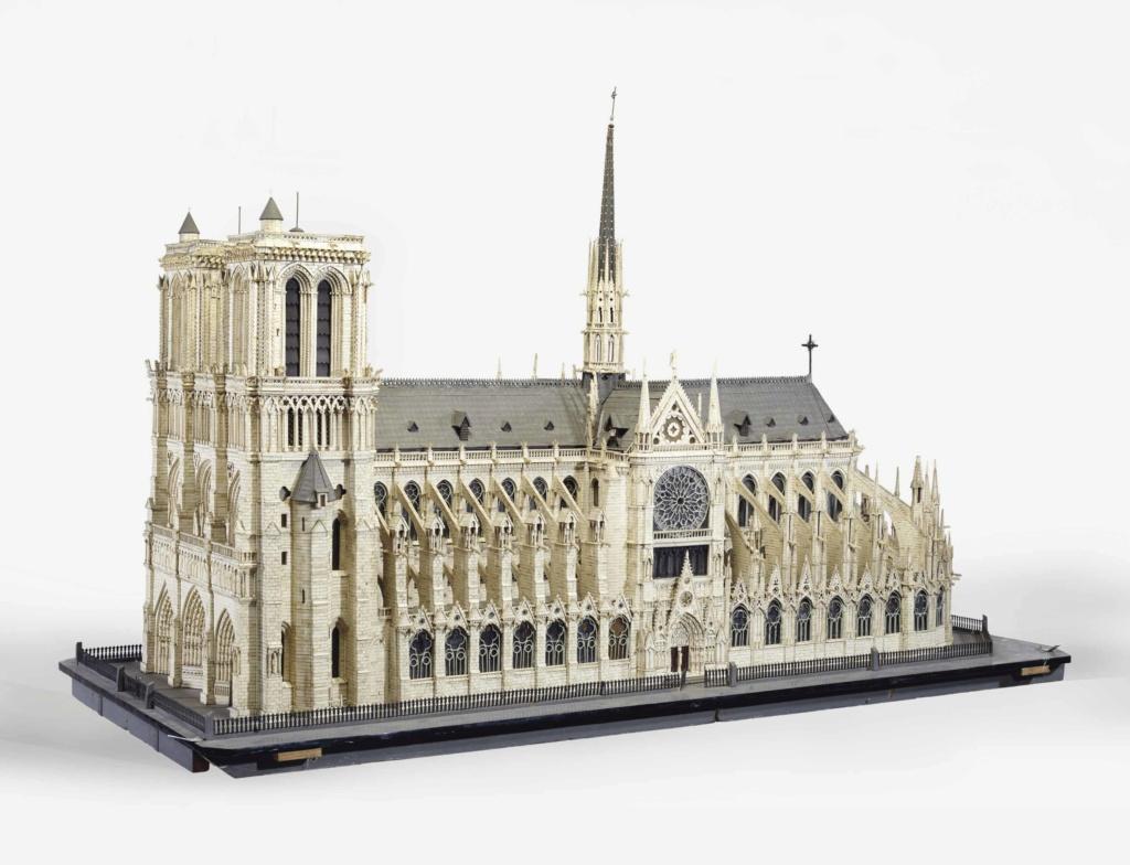 Maquettes historiques de la cathédrale Notre-Dame de Paris 2017_p12