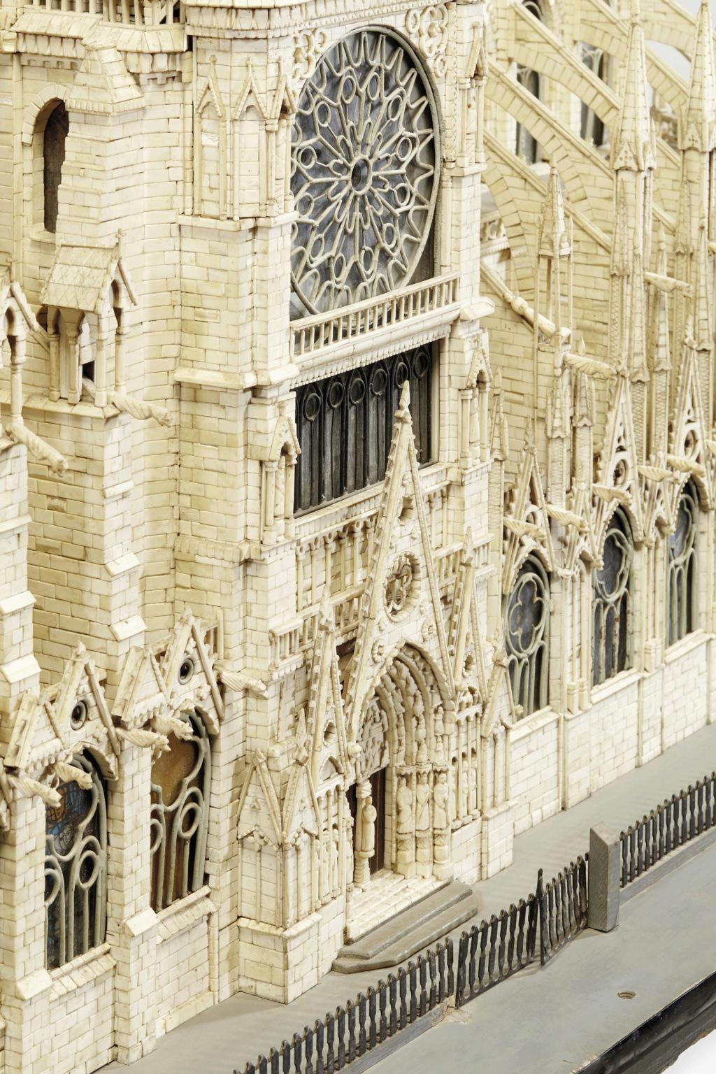 Maquettes historiques de la cathédrale Notre-Dame de Paris 2017_p15