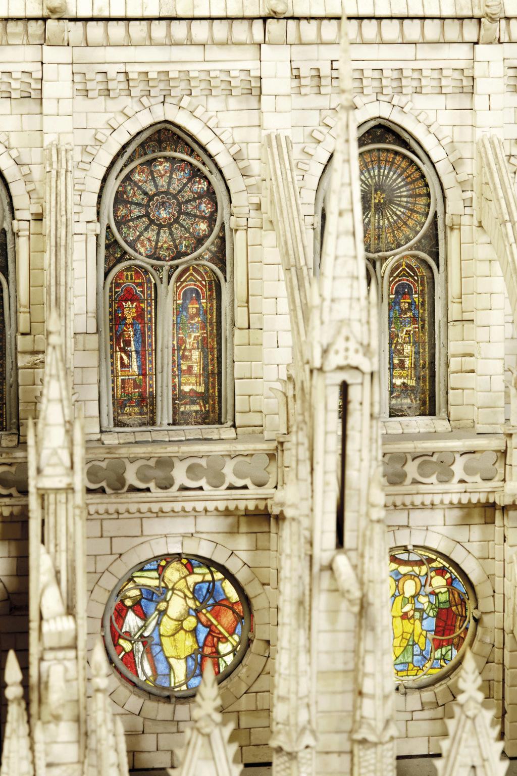 Maquettes historiques de la cathédrale Notre-Dame de Paris 2017_p16