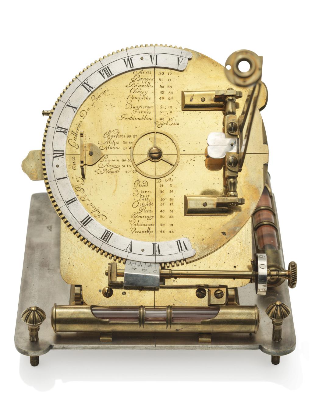 Latitudes et longitudes, les instruments de mesure du temps pour les voyages : chronomètre de marine, cadrans solaires et boussoles du XVIIIe siècle 2019_c42