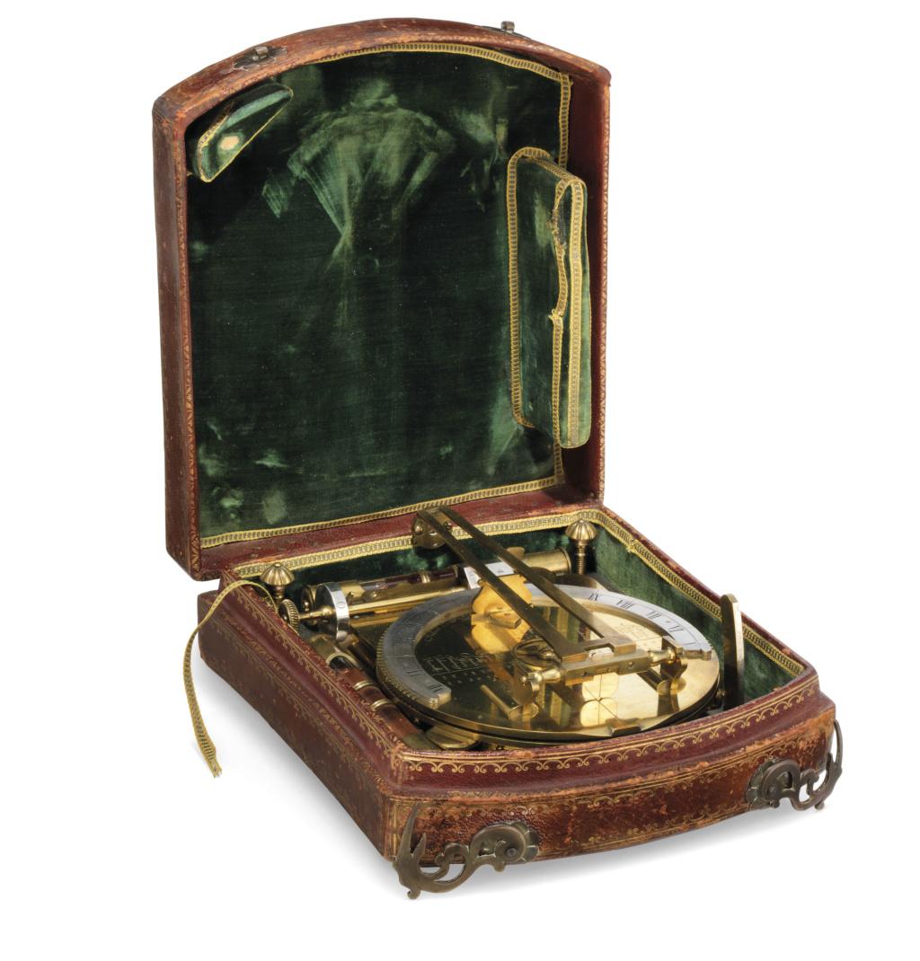 Latitudes et longitudes, les instruments de mesure du temps pour les voyages : chronomètre de marine, cadrans solaires et boussoles du XVIIIe siècle 2019_c43