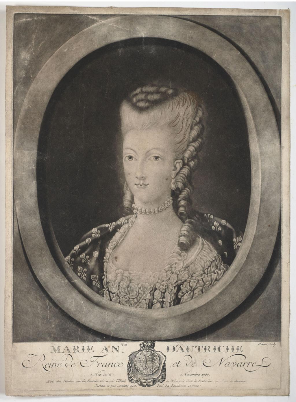 Portraits de Marie-Antoinette : les gravures, estampes, mezzotintes, aquatintes etc.  - Page 3 2019_p10