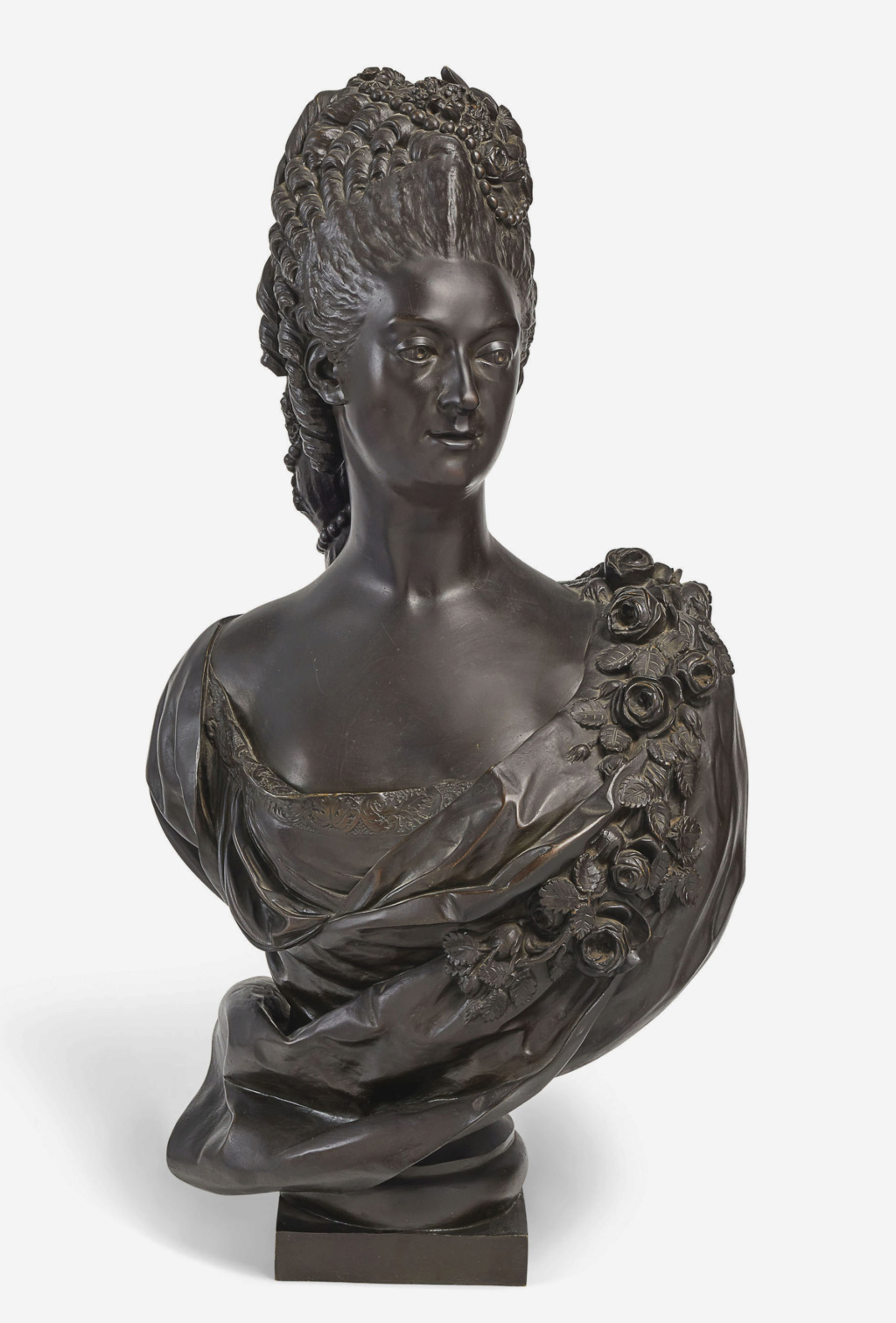 Buste de Mme Adélaïde, de Mme Clotilde, ou d'une inconnue (mais non pas de Marie-Antoinette) par Vavasseur ?  2019_p21