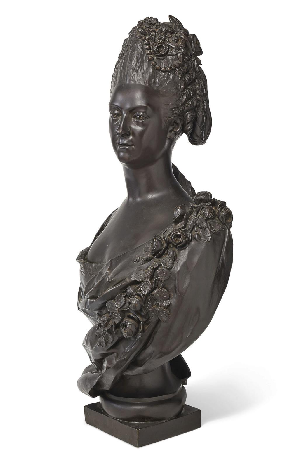 Buste de Mme Adélaïde, de Mme Clotilde, ou d'une inconnue (mais non pas de Marie-Antoinette) par Vavasseur ?  2019_p22