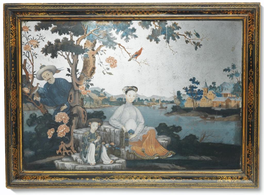 La peinture sous / sur verre chinoise au XVIIIe siècle 2020_c16