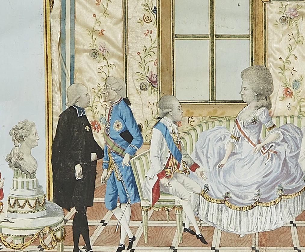 Le voyage en Europe du comte et de la comtesse du Nord : le tsarévitch Paul et son épouse. - Page 2 2021_n14