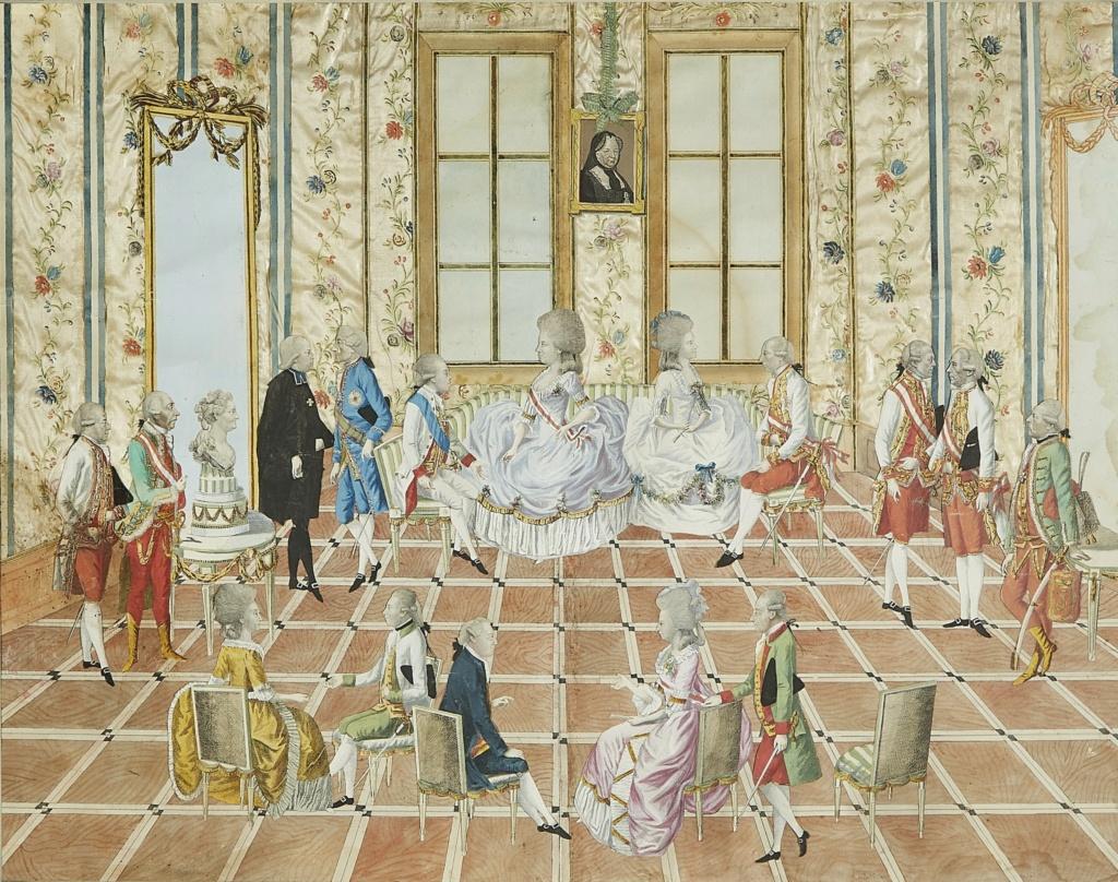 Le voyage en Europe du comte et de la comtesse du Nord : le tsarévitch Paul et son épouse. - Page 2 2021_n17
