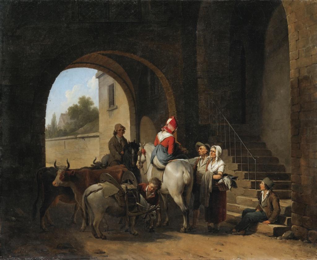 Louis-Léopold Boilly : peintre de la société parisienne de Louis XVI à Louis-Philippe 204pf110