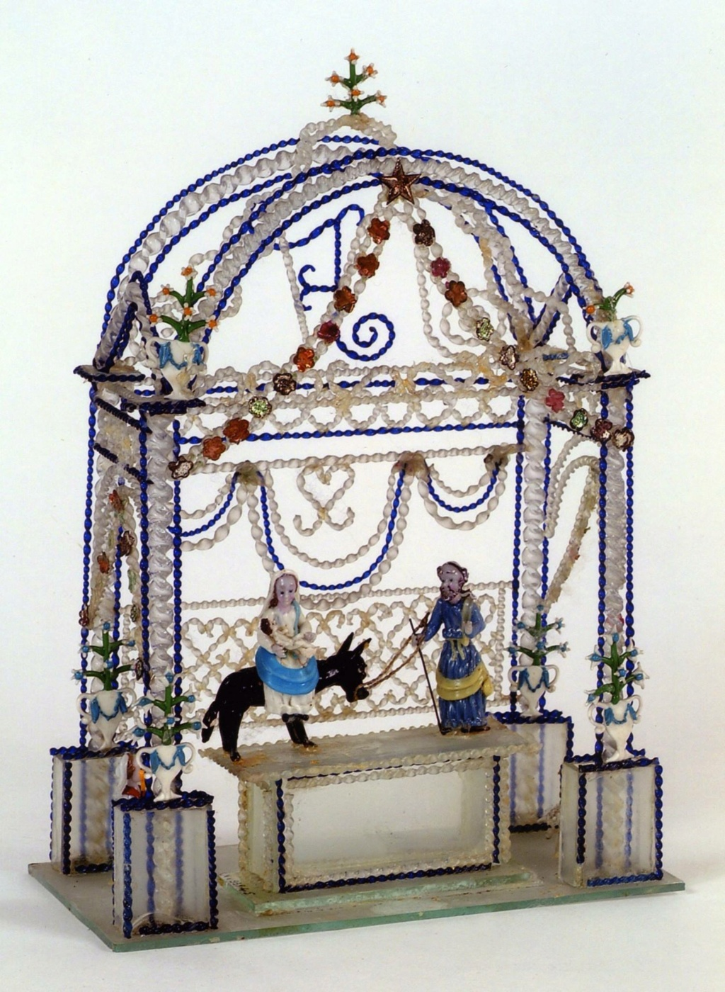 Le verre de Nevers, l'art du travail à la lampe et des verres filés 21316410