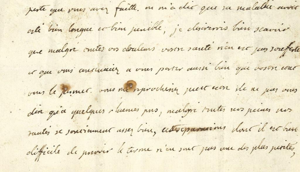 Lettres autographes et écrits de Louis XVI 218