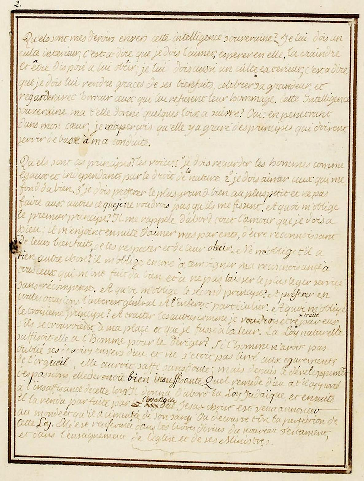 Le Journal du roi Louis XVI et ses Reflexions sur ses entretiens avec Mr le Duc de la Vauguyon 226