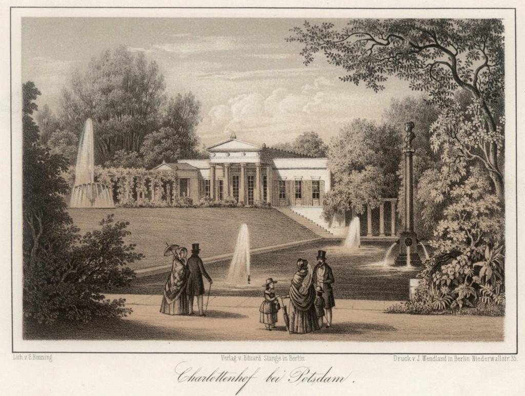 Le palais et le parc de Sans-souci, ou Sanssouci, à Potsdam  22680010