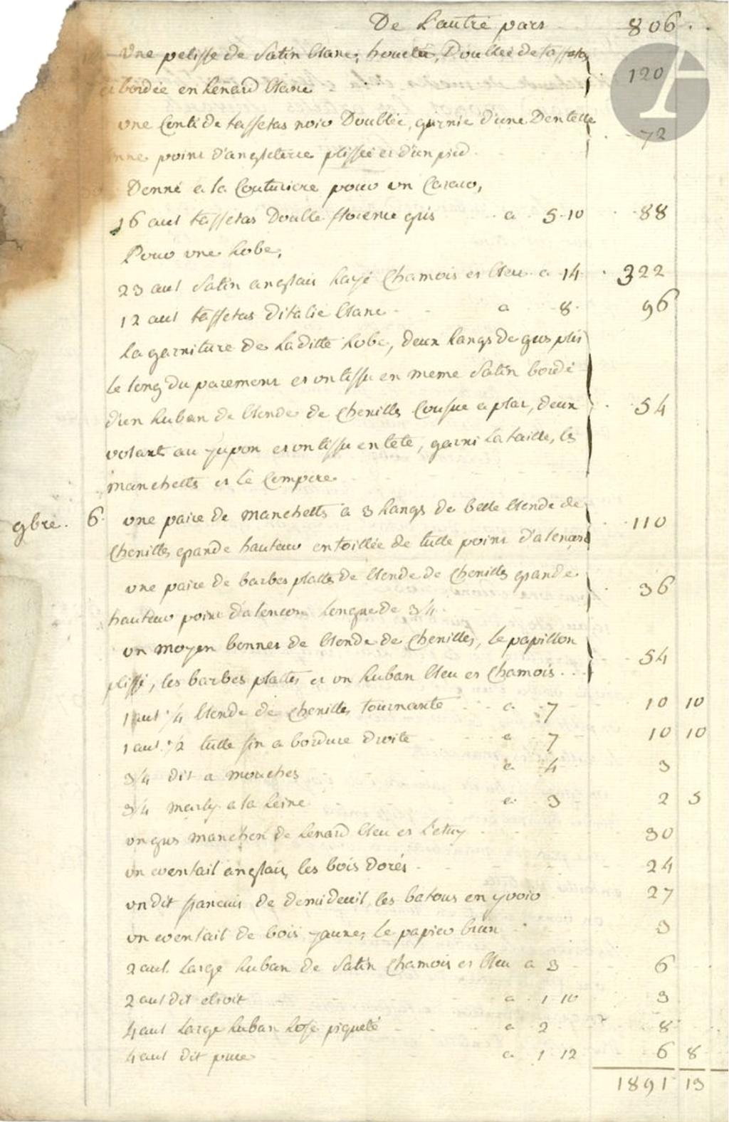Mademoiselle Marie-Jeanne Bertin, dite Rose Bertin - Page 6 228