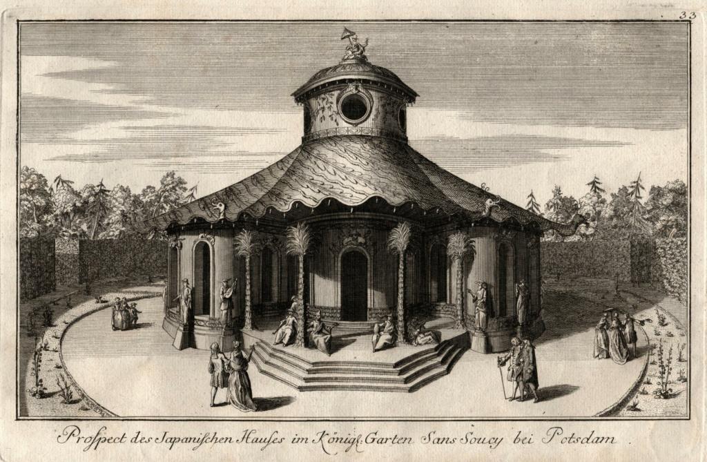 Le palais et le parc de Sans-souci, ou Sanssouci, à Potsdam  22873510