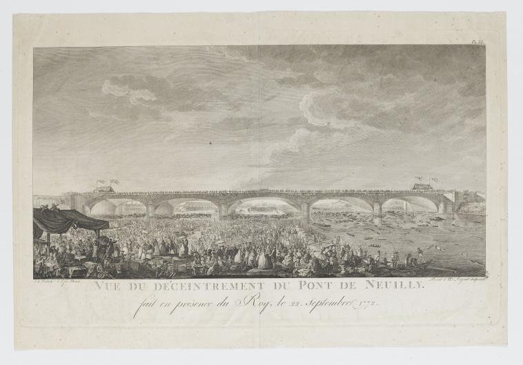 Le pont de Neuilly au XVIIIe siècle 23057710
