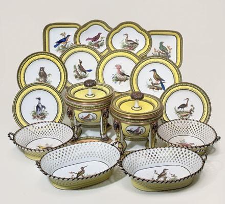 """Seaux à glace """" à trépieds """" en porcelaine de Sèvres  23588810"""