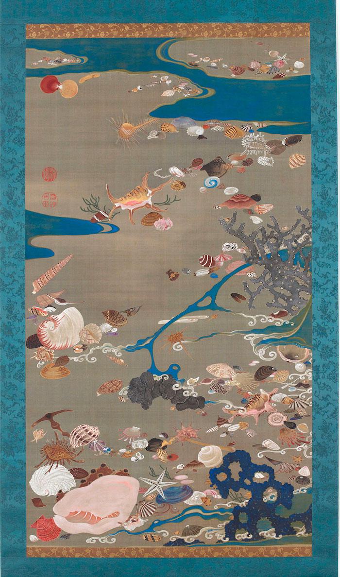 Exposition : Jakuchū (1716-1800), le Royaume coloré des êtres vivants 24_she10