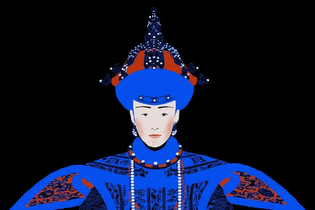 Impératrices, épouses et concubines de l'empereur de Chine (dynastie Qing) dans la Cité Interdite 2531c510