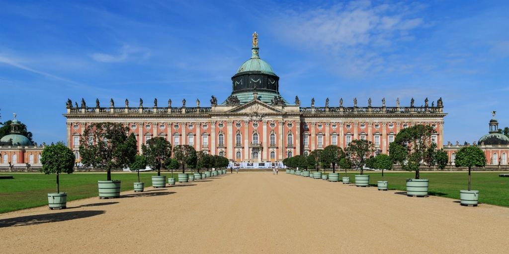 Le palais et le parc de Sans-souci, ou Sanssouci, à Potsdam  2560px11