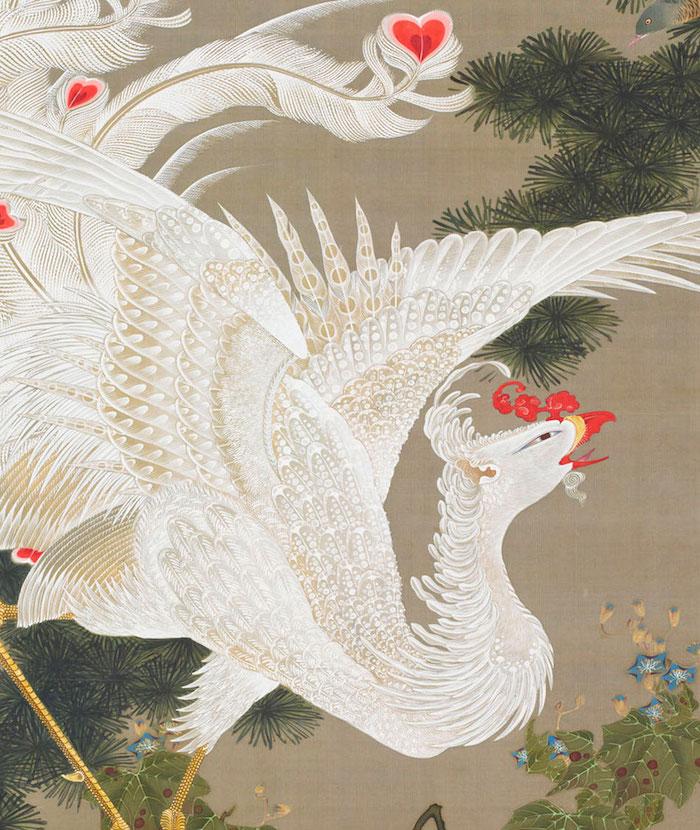 Exposition : Jakuchū (1716-1800), le Royaume coloré des êtres vivants 25_whi11