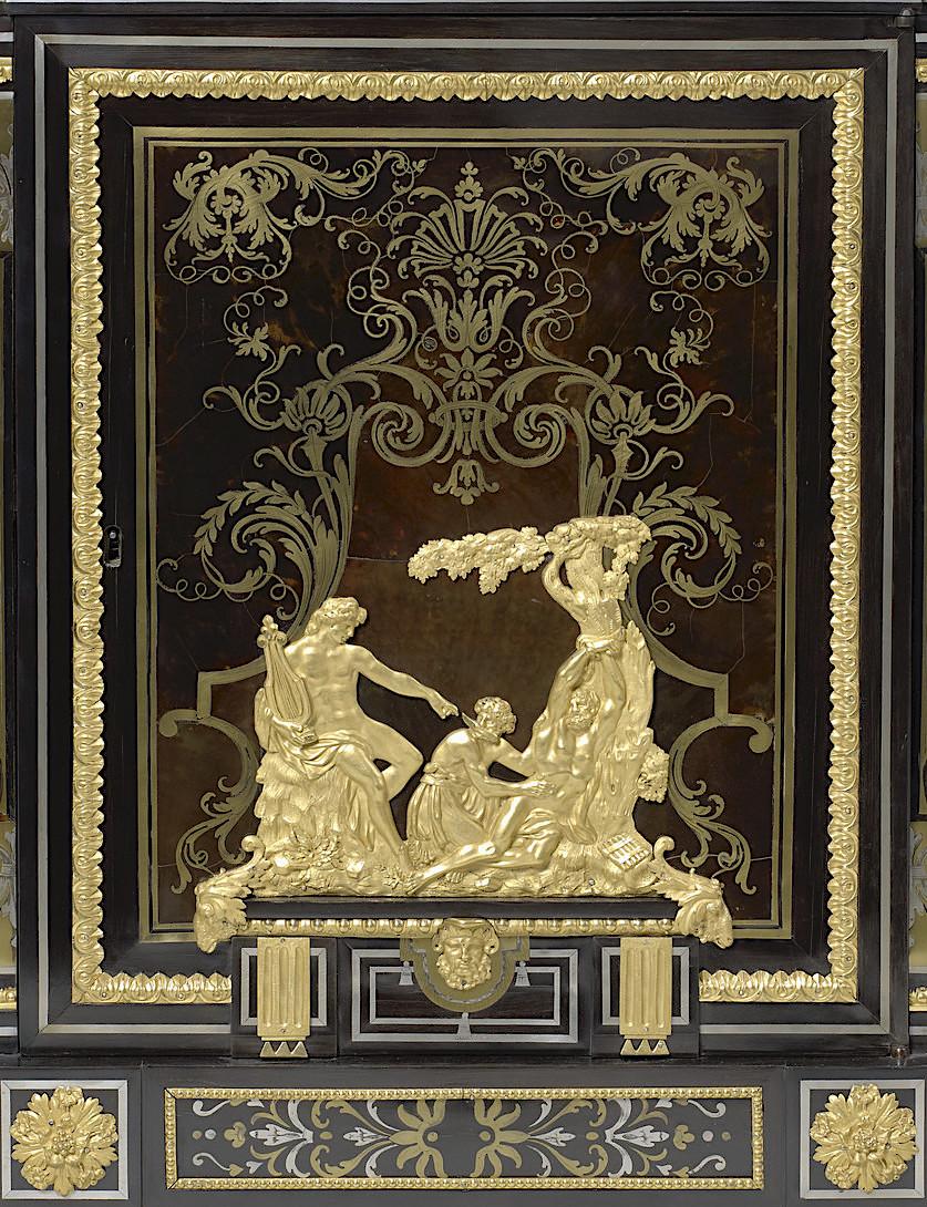 Le mobilier et le renouveau du « style Boulle » dans les années 1770-1780 : Etienne Levasseur et Adam Weisweiler 27021211