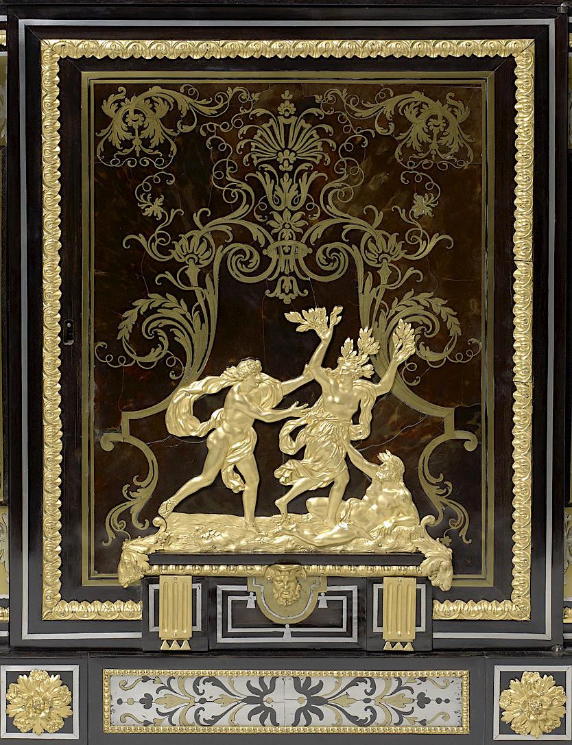 Le mobilier et le renouveau du « style Boulle » dans les années 1770-1780 : Etienne Levasseur et Adam Weisweiler 27021411