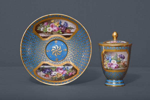 La peinture des fleurs : Sophie de Fuligny-Damas, marquise de Grollier 28154510