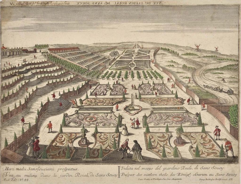 Le palais et le parc de Sans-souci, ou Sanssouci, à Potsdam  29111110