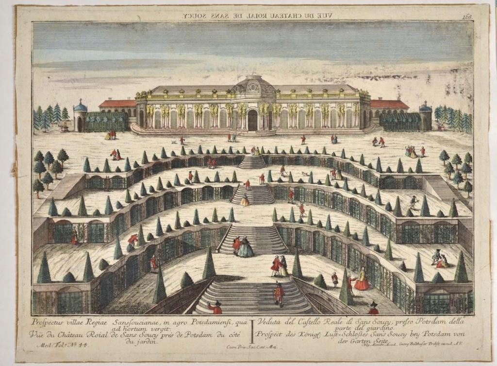 Le palais et le parc de Sans-souci, ou Sanssouci, à Potsdam  29111710