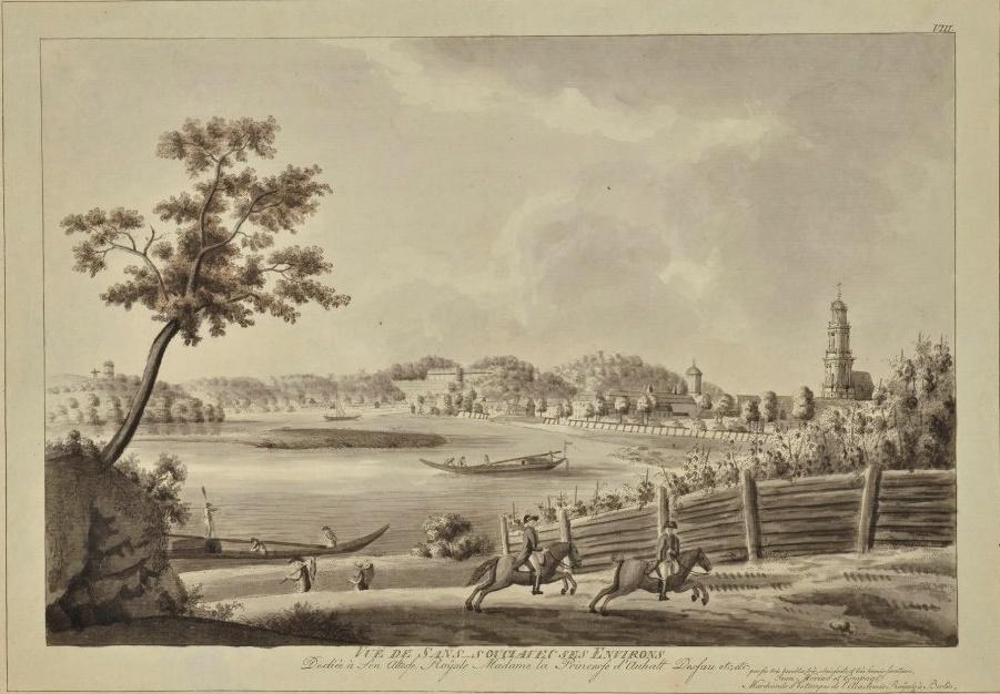 Le palais et le parc de Sans-souci, ou Sanssouci, à Potsdam  29123710