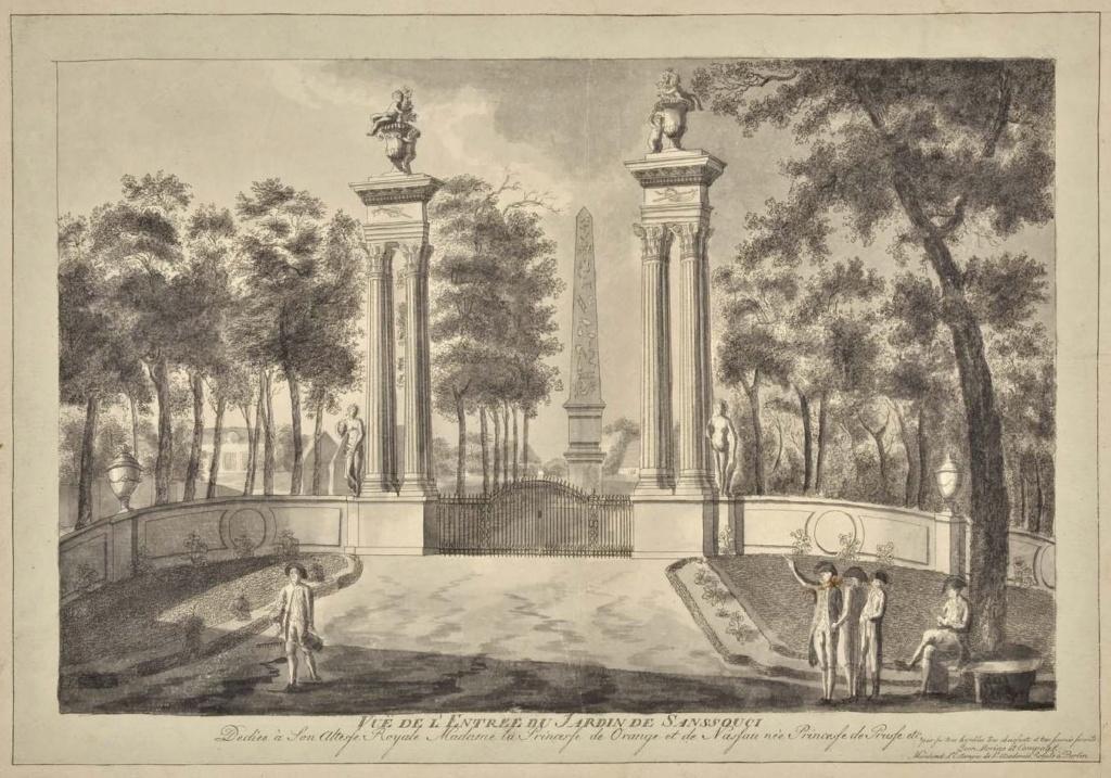 Le palais et le parc de Sans-souci, ou Sanssouci, à Potsdam  29130410