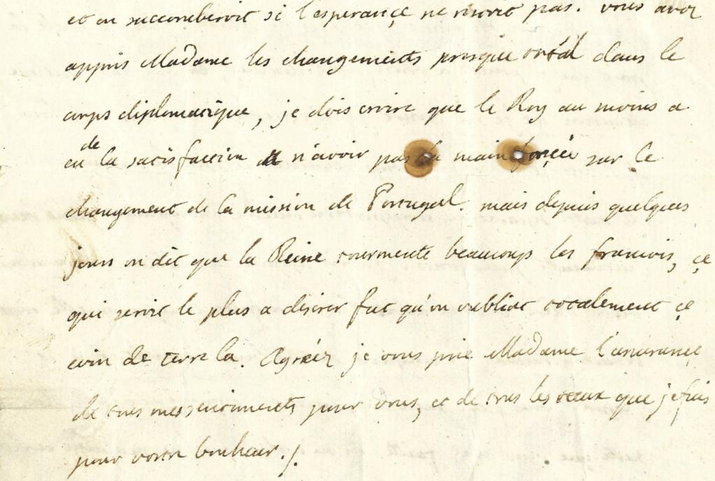 Lettres autographes et écrits de Louis XVI 315