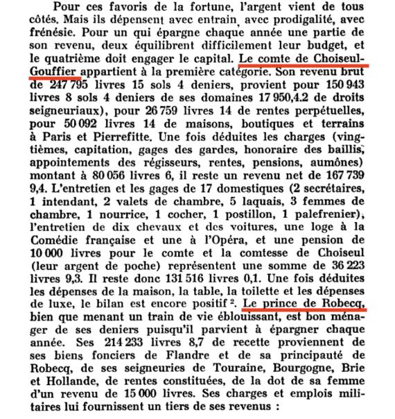 Prix, salaires et coût de la vie au XVIIIe siècle : convertisseur de monnaies d'Ancien Régime - Page 2 317