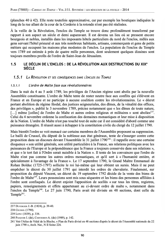 L'enclos du Temple au XVIIIe siècle - Page 3 321