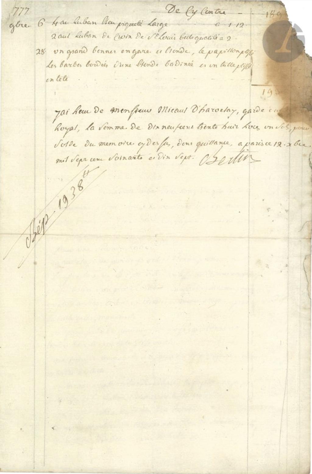 Mademoiselle Marie-Jeanne Bertin, dite Rose Bertin - Page 6 323