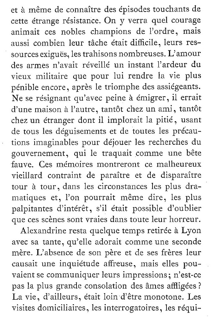 Une famille noble sous la Terreur,  (Mémoires) d'Alexandrine des Écherolles 324