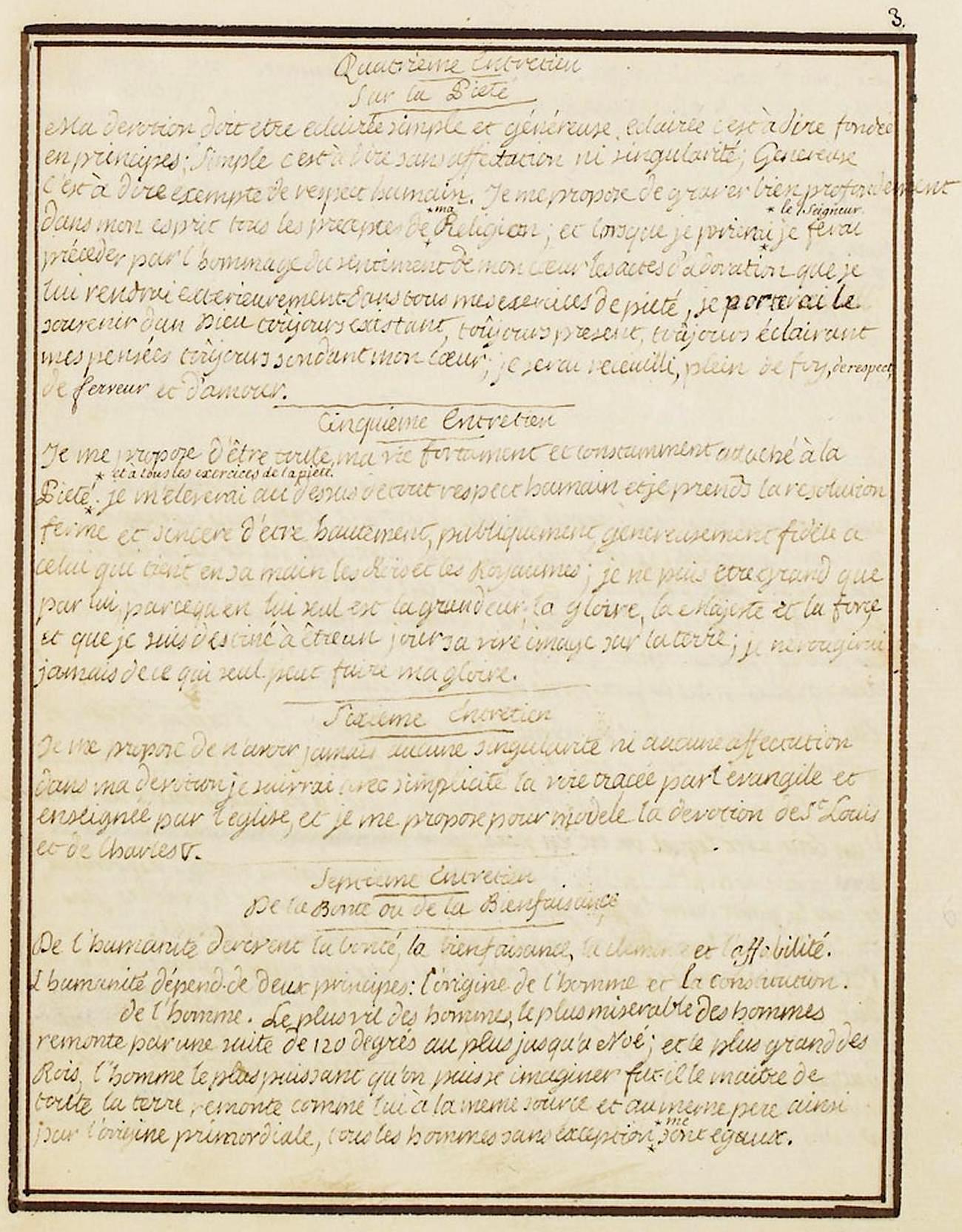 Le Journal du roi Louis XVI et ses Reflexions sur ses entretiens avec Mr le Duc de la Vauguyon 327