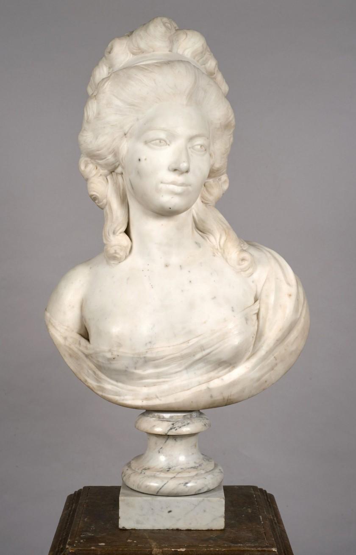 Sculpture : Les bustes de la princesse de Lamballe (présumée) 3290_110