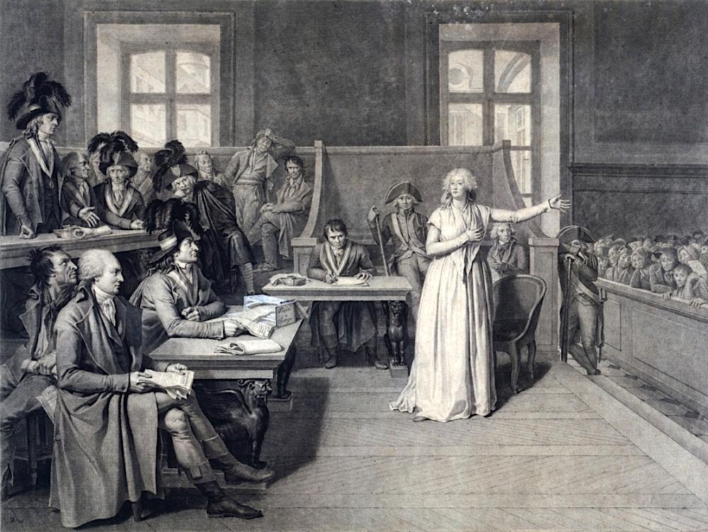 Le palais de Justice de L'île de la Cité, Paris, et la salle du Tribunal révolutionnaire 33748-12